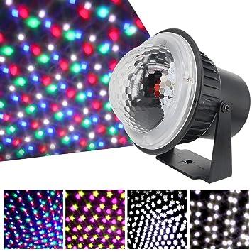 Lilideni AC85V-240V 5W LED Mini proyector Luz Leds Caída de ...