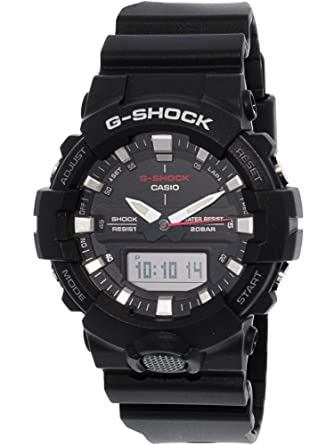 cdc5fcbac3f2 Amazon.com  G-Shock Men s GA-800 Black One Size  Casio  Watches