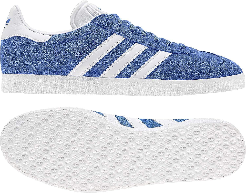adidas Gazelle, Basket Homme Blue Ftwr White Gold Met