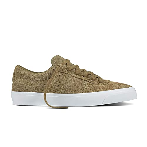 d72107653e8b Image Unavailable. Image not available for. Color  Converse One Star CC OX  Khaki White Skate Shoe ...