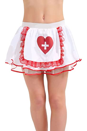 Islander Fashions Womens Sexy Nurse Tutu Skirt Ladies Fancy Cruz ...