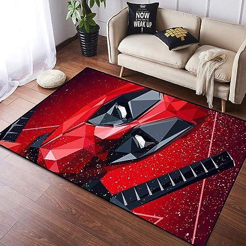 Coobal The Avengers Deadp-ool Home Decoration Large Rug Floor Carpet Yoga Mat, playroom Rug for Children Kid Playroom Bedroom 6×9 Foot 182cmx274cm
