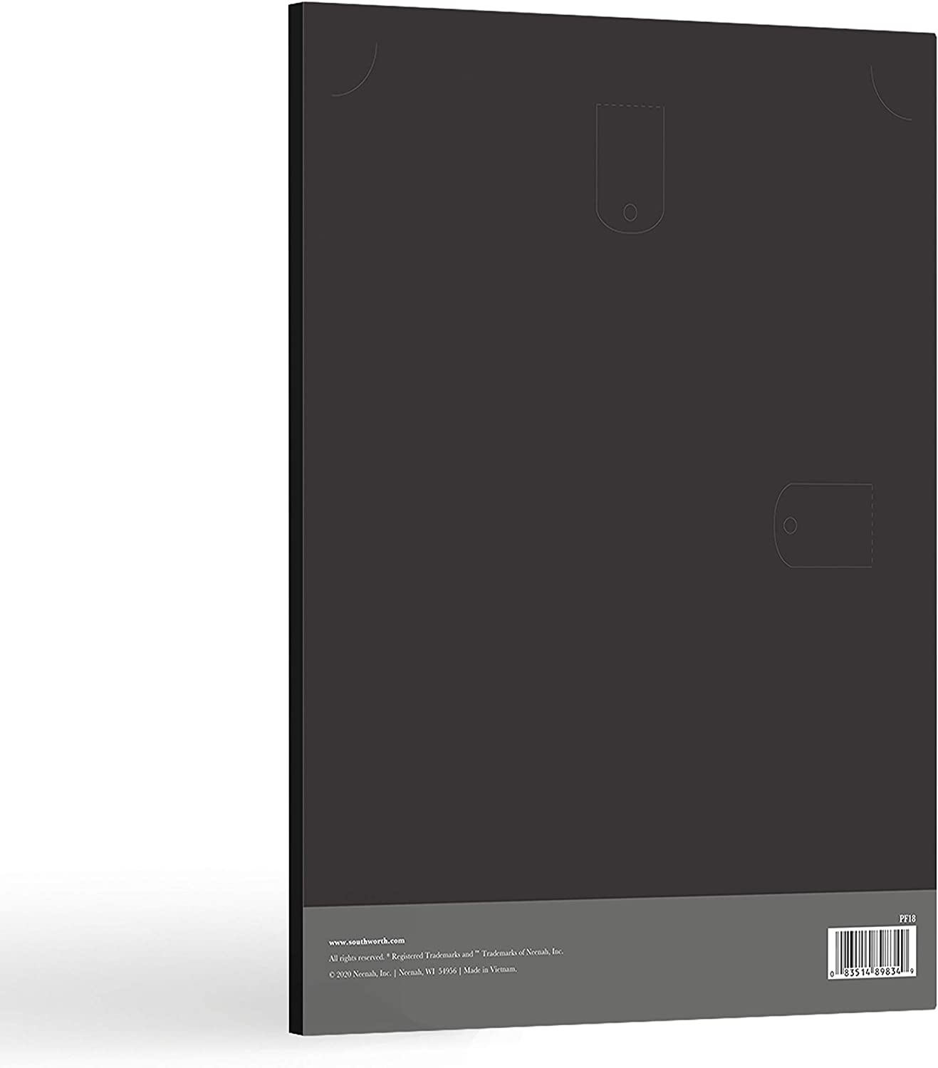 105 lb 9.5 x 12 Black Linen Finish PF18 Southworth Certificate Holder Packaging May Vary 10 Count