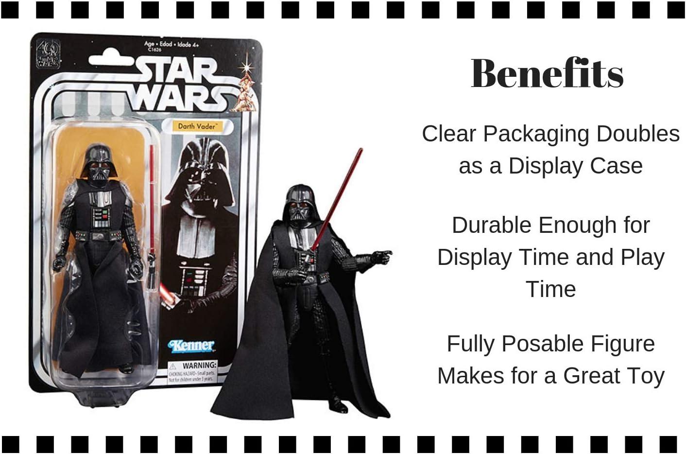 Star Wars Black Series Darth Vader Action Figure Avec Protecteur Précommande ETA Aug