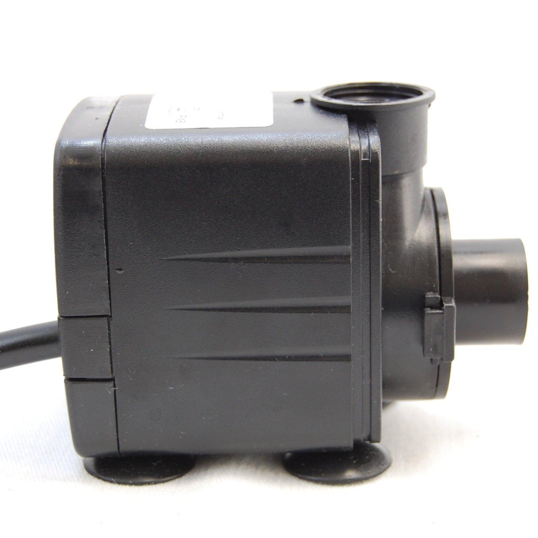 HQRP Submersible Water Pump for Fountain, Waterfall Lamp, Terrarium, Aquarium, Humidifier, Drainage, Pond, Hydroponic, Fish Tank 400 GPH Coaster