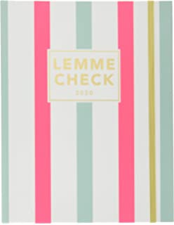 Amazon.com : Graphique PVC Agenda, Light Pink Vinyl - 18 ...