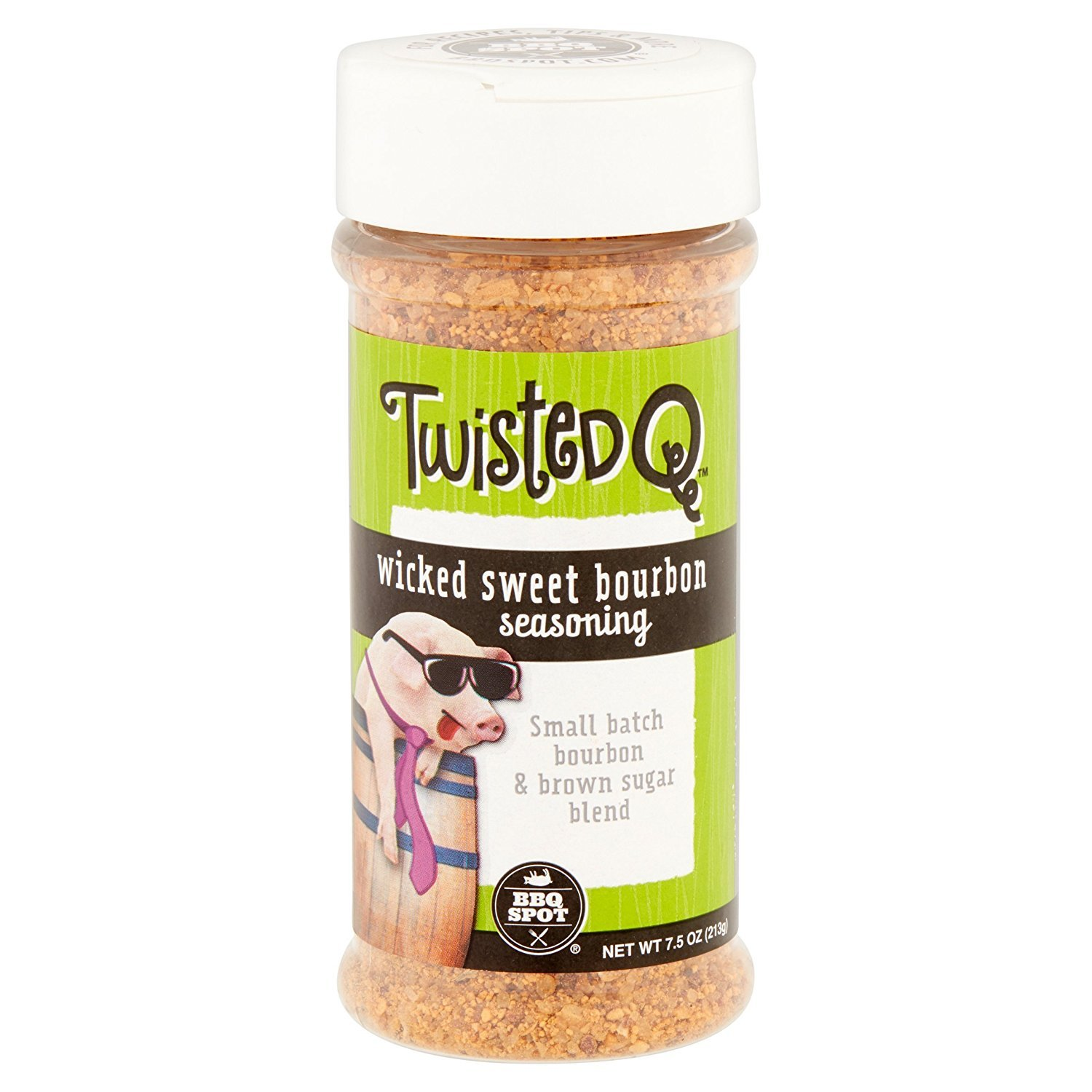Twisted Q Wicked Sweet Bourbon Seasoning, 7.5 oz (Pack of 2)