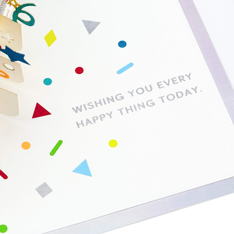 Hallmark Signature Paper Wonder Pop Up Birthday Card Birthday Cake