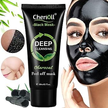 Black Maskmitesser Maskepeel Off Maskebambuskohle Peel Off Maske