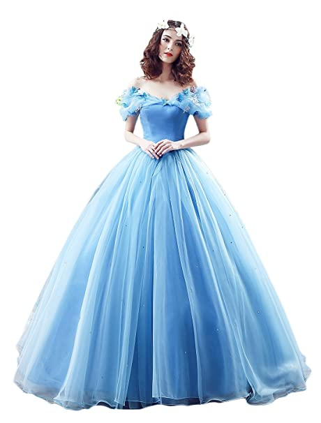 kekehouse® Cuello de Barco Vintage vestidos de novia Cosplay Princesa Cenicienta vestido de novia quinceañera