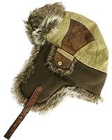 SIGGI warme Baumwolle Trappermütze Bomber Hut Unisex Fliegermütze Fellmütze Erwachsenen für Herren