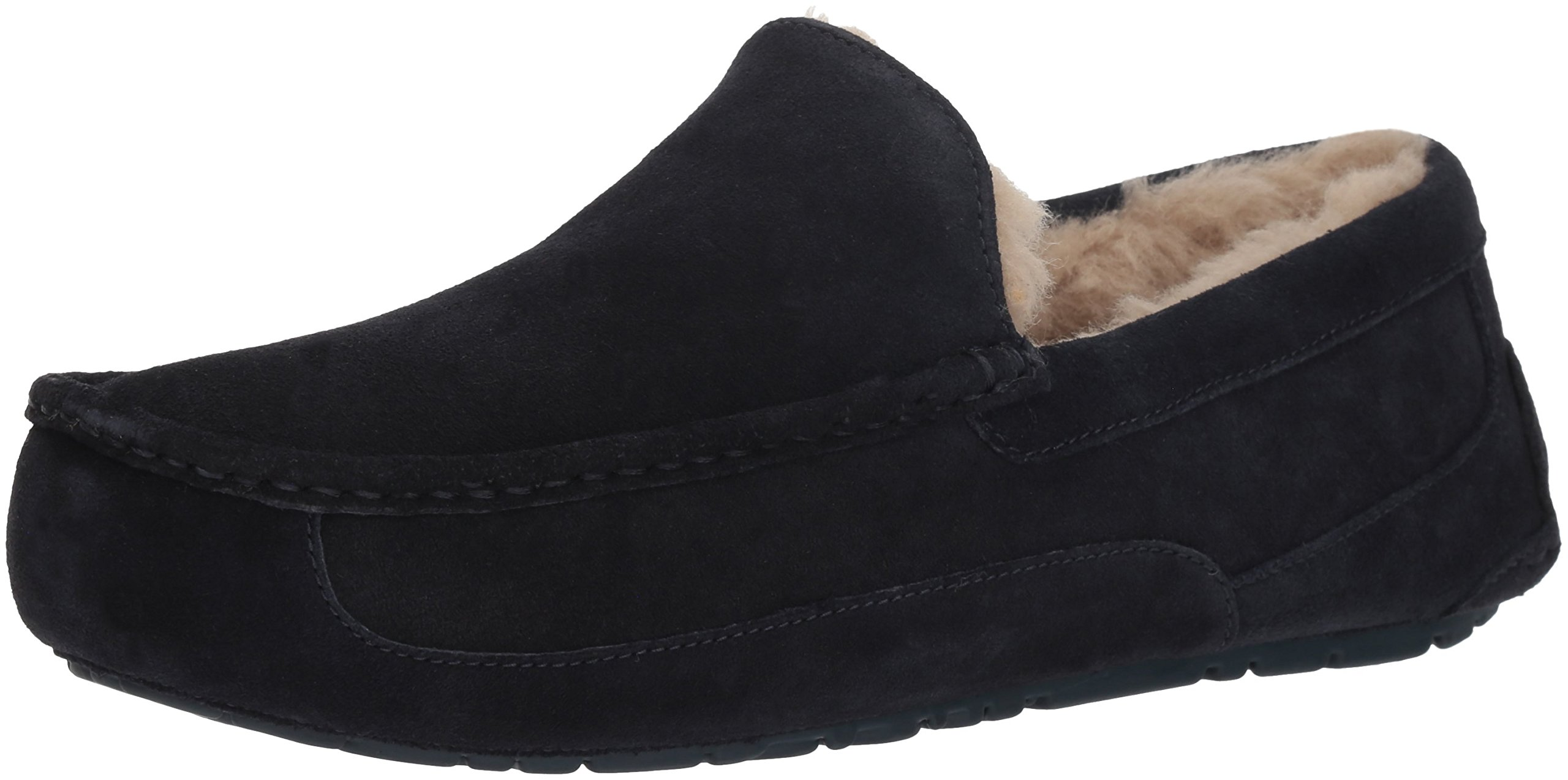 UGG Men's Ascot Slipper, True Navy, 12 M US by UGG