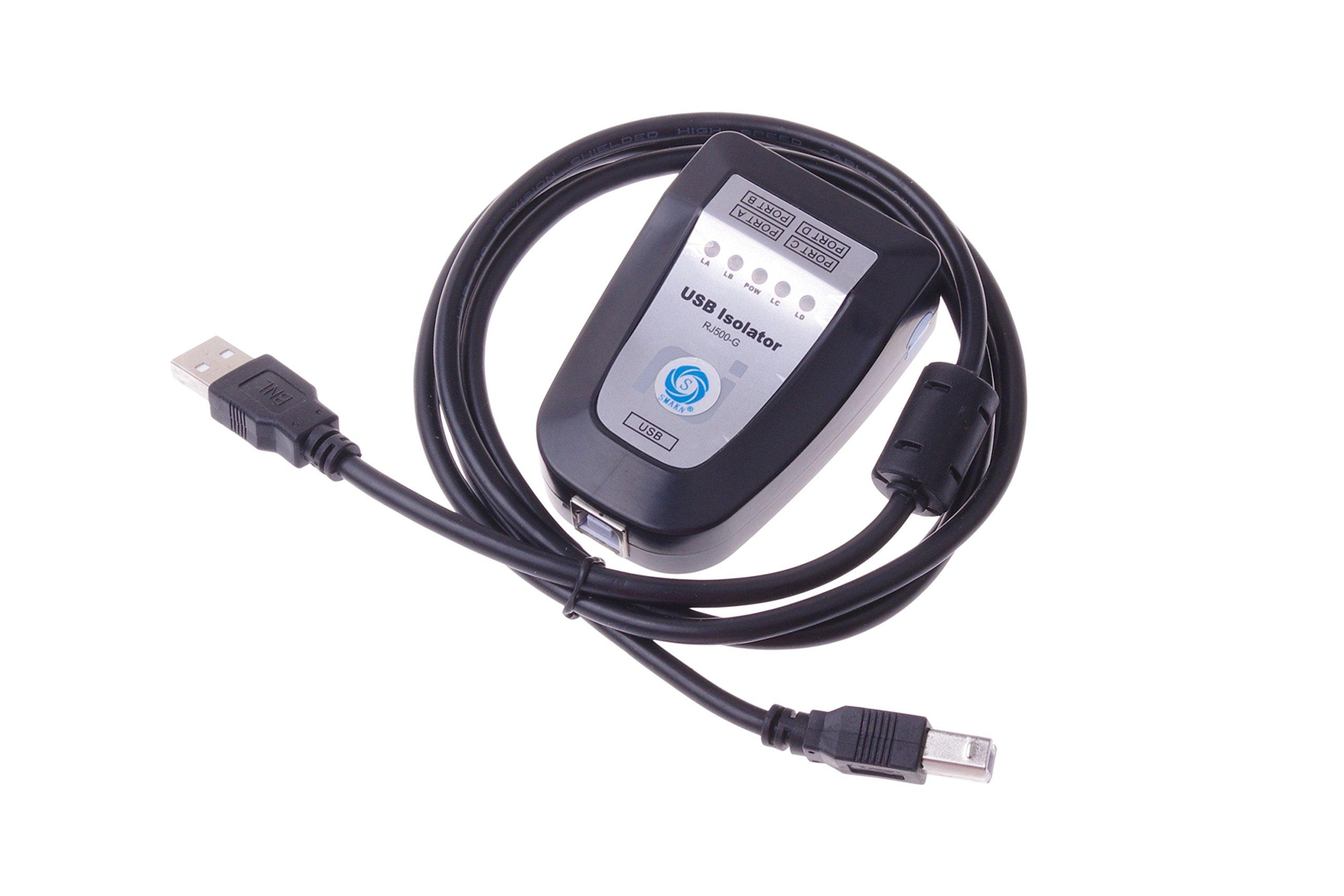 SMAKN® USB to USB Isolators / usb hub / Signal Power Audio Isolation