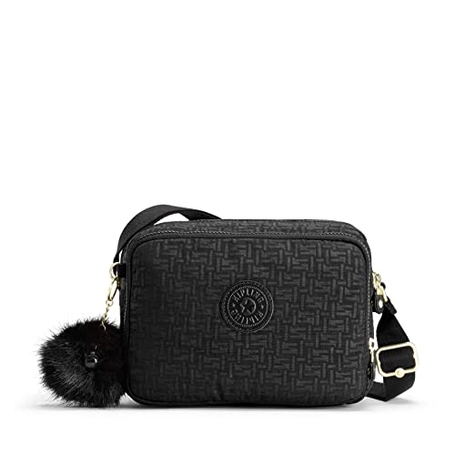 5a3401e9e783 Kipling Silen, Women's Cross-Body Bag, Black (Black Pylon Emb ...