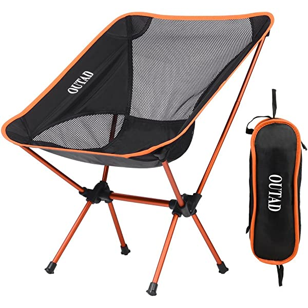 Silla de Camping Plegable con bolsa, plegable y portátil ...