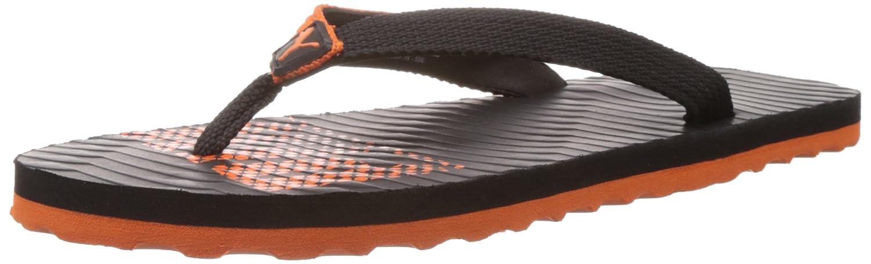 8dcafb7c8c9e7e Puma Men s Miami 6 DP Black-Vibrant Orange Mesh Flip Flops Thong Sandals -  7 UK India (40.5 EU)  Buy Online at Low Prices in India - Amazon.in