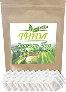 Soursop Tea 30 Bags | 100% Natural Tea Bags | Immunity Boosting Soursop Tea Bags | Fight Inflammation With Soursop Leaves | Herbal Life Tea From Guanabana Leaves | Graviola \ Soursop Fruit Tea