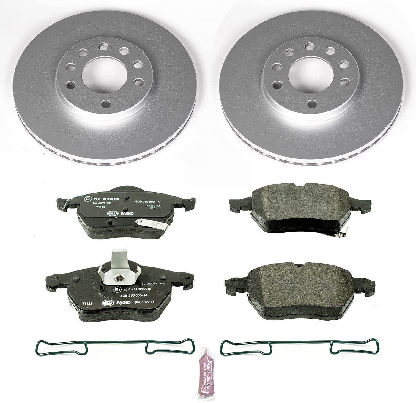 EBC Brakes GD550 3GD Series Dimpled and Slotted Sport Rotor