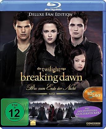 Breaking Dawn Bis S Zum Ende Der Nacht Teil 2 Blu Ray Deluxe