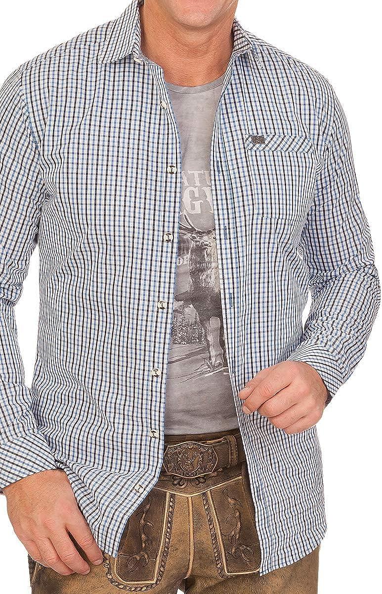 rot KANU Spieth /& Wensky Trachtenhemd blau