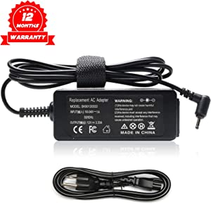 40W 12V 3.33A AC Adapter Laptop Charger for Samsung Chromebook 2 XE303C12 XE500C12 XE503C12 XE503C32 3 XE500C13 XE501C13 Series Notebook Model A12-040N1A AD-4012NHF PA-1250-98 Power Supply Cord