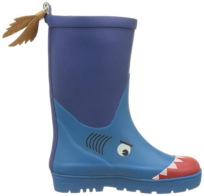 Bleu Bottesamp; De Bottines Aigle Pluie Requin Woodypop Fun hCtdQsr
