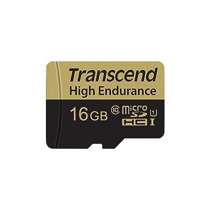 Transcend 16GB microSDHC Memoria Flash Clase 10 MLC - Tarjeta de ...