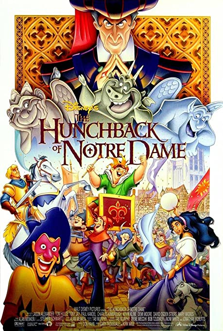 Image result for hunchback of notre dame movie poster