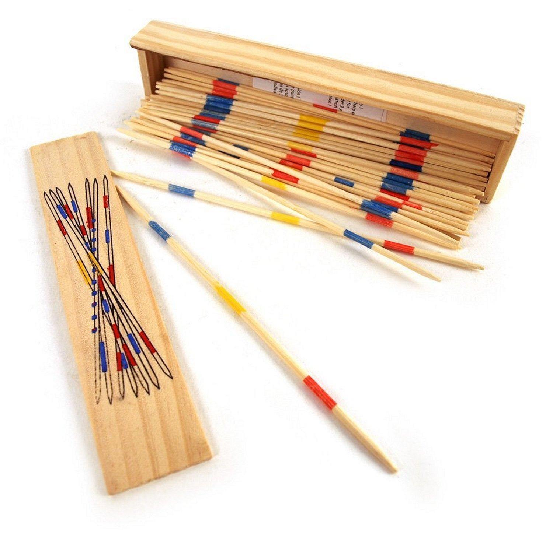 Wooden Boxed Pick Up Sticks Mikado Set OOTB B009ZAA7Y0