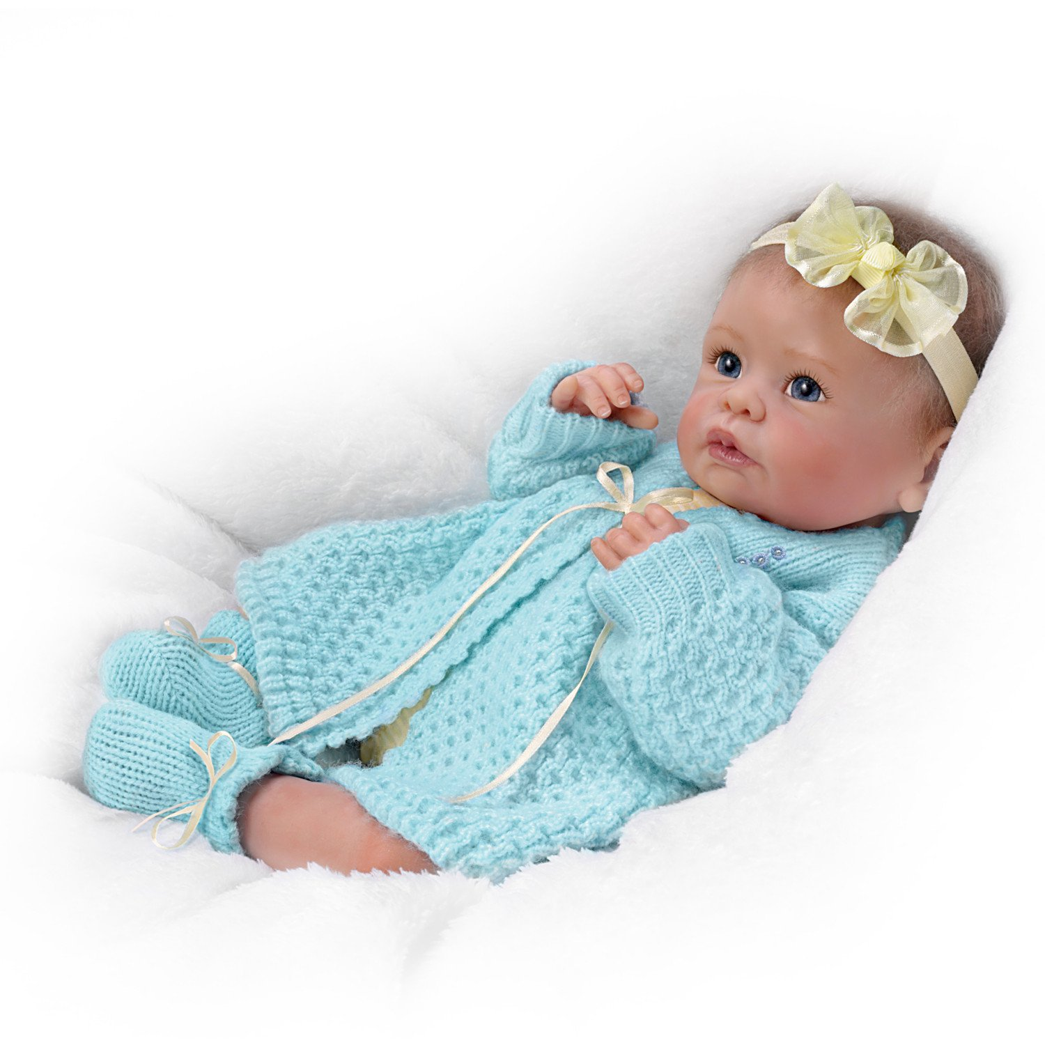 Ashton drake sweetly snuggled sarah baby girl doll by for The ashton