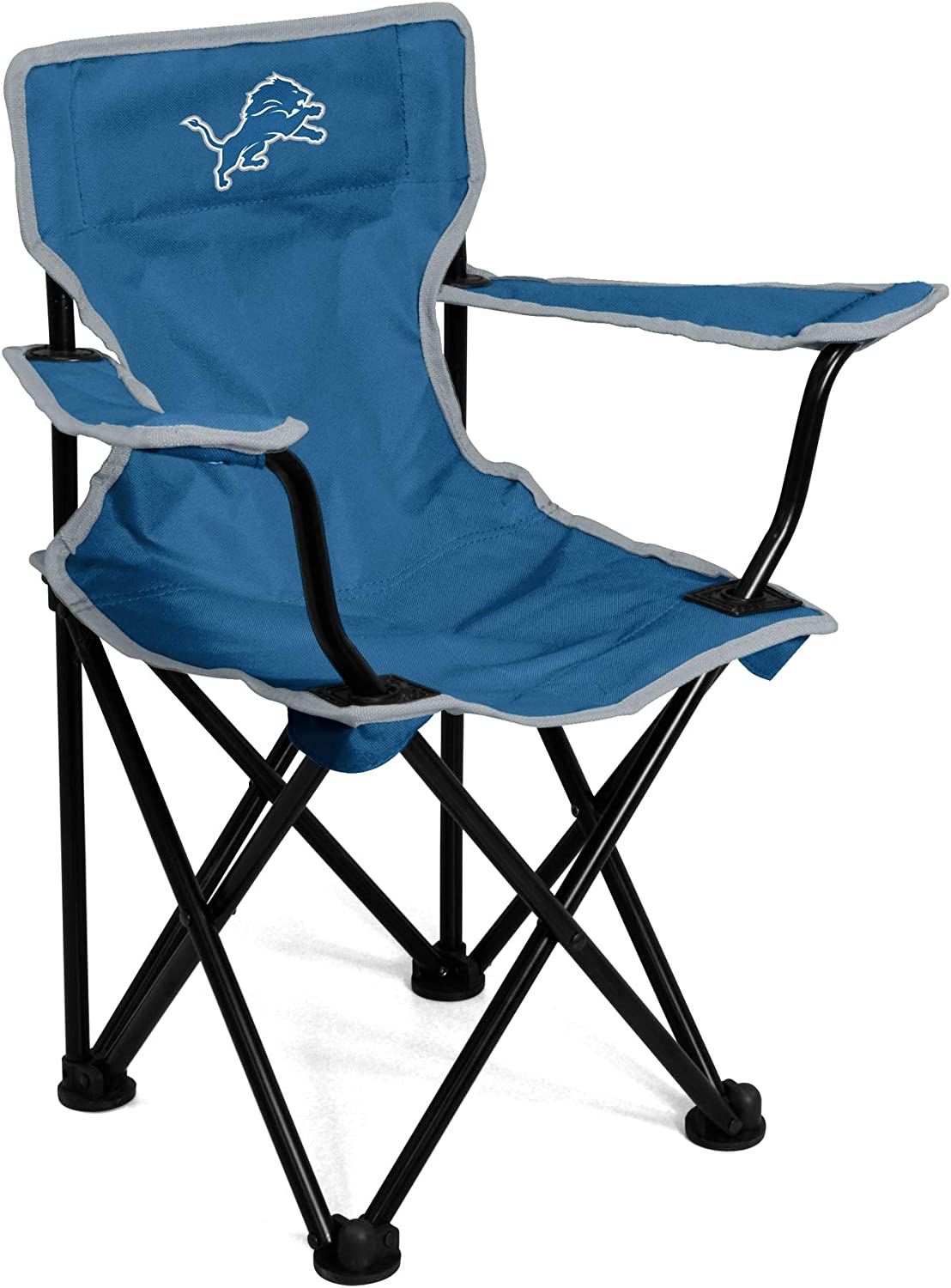 logobrands NFL Detroit Lions Unisex Toddler Chairtoddler Chair, Cobalt, N/A, One Size