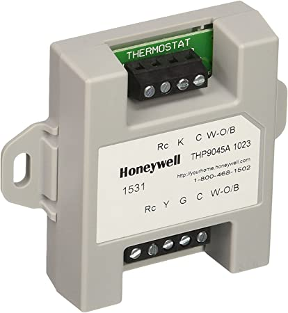 Honeywell THP9045A1023 Wiresaver Wiring Module for Thermostat on honeywell add a wire, honeywell thermostats baseboard, american standard wiring, honeywell thermostats focuspro 5000, honeywell prestige iaq redesigned, honeywell th3000 installation guide, honeywell heat thermostats instalation, honeywell log, honeywell rth2510, rth230b wiring, honeywell ct87n4450, honeywell blower relay, honeywell pro 5000 owner's manual, trane air conditioners wiring, hoover vacuum wiring, honeywell wi-fi focuspro 6000, zone valve wiring, rth2310 wiring, th4110d1007 wiring, th5220d1003 wiring,