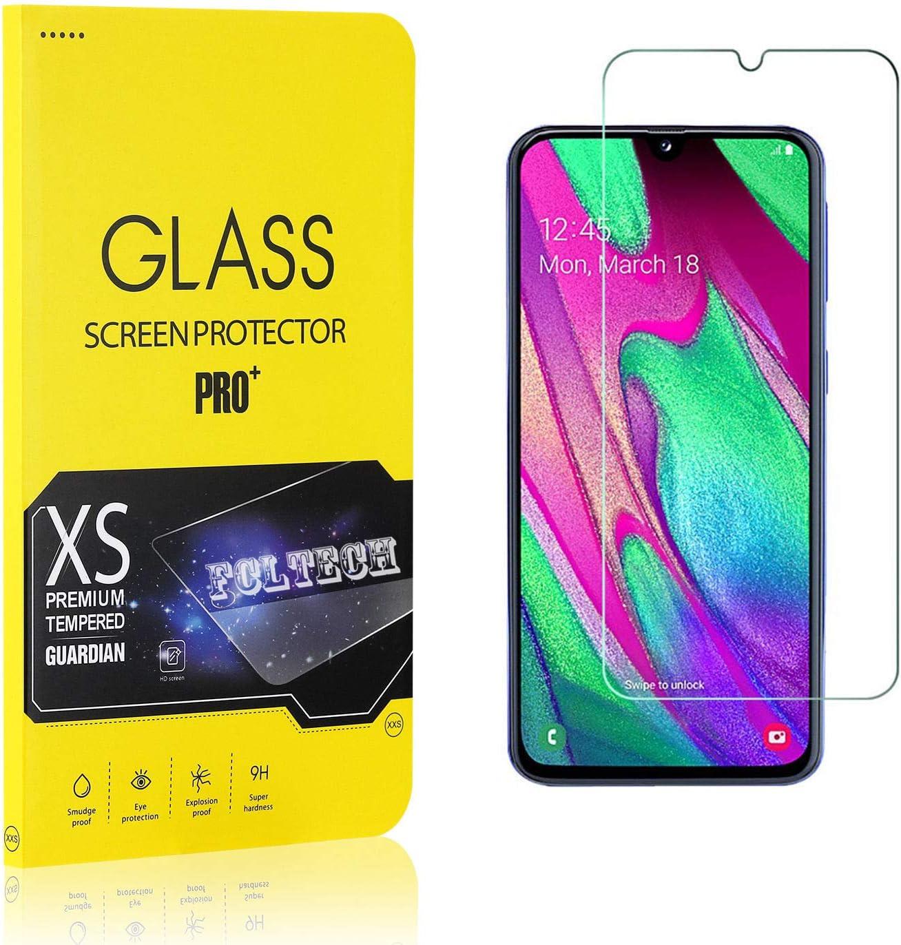 HD Verre Trempe /écran Protecteur Vitre Protection ecran Compatible avec Samsung Galaxy A40 FCLTech Verre Tremp/é pour Galaxy A40 4 Pi/èces