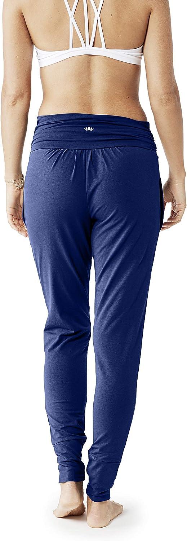 Lotuscrafts Pantalon de Yoga pour Femme en Coton Biologique