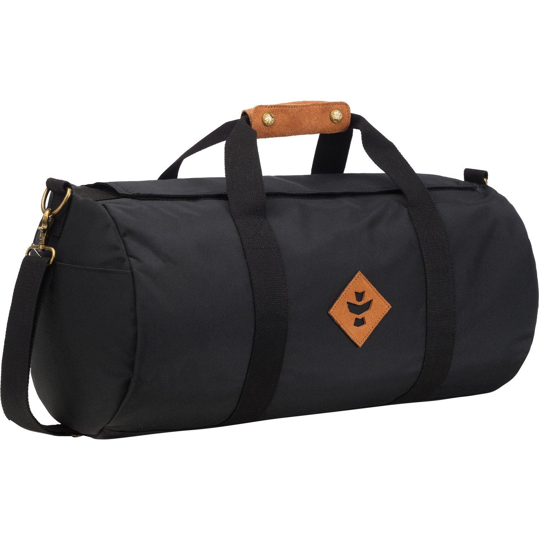 Revelry Supply The Overnighter 28lブラックDuffle Bag B076WM219T