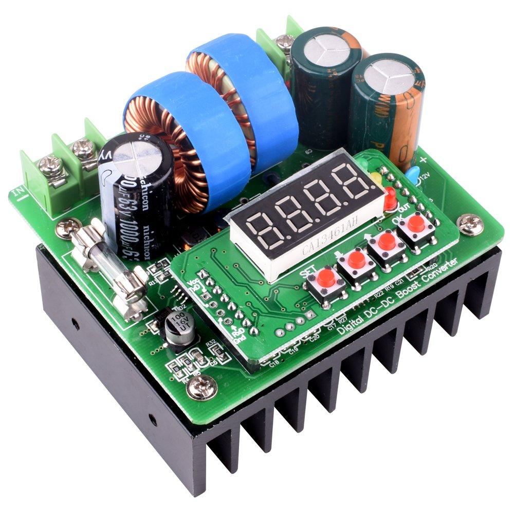 Dc Boost Converter Quimat Digital Control 400w Circuit Elektronik