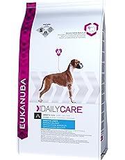 Eukanuba Daily Care - Croquettes Premium pour Chiens Adultes aux Articulations Sensibles -Toutes Races - Au Poulet - Recommandé par les vétérinaires - 100% Complète - Sac refermable de 12.5kg