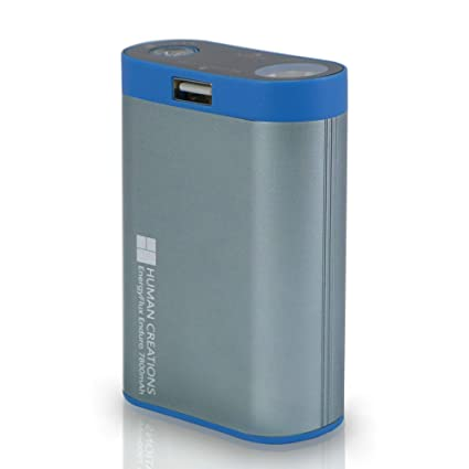 17d9a2909da Human Creations EnergyFlux Enduro Rechargeable Hand Warmer 7800mAh / USB  Portable Charger Power Bank Battery Pack