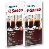 2 x 10 Philips / Saeco RI9125 Tablets 24 Kaffeefettlöser Coffee Clean by Saeco