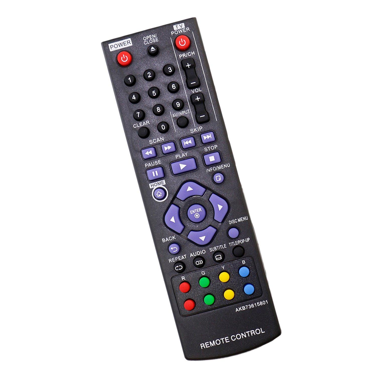Control Remoto AKB73615801 LG Blu Ray Disc DVD Player BD2...