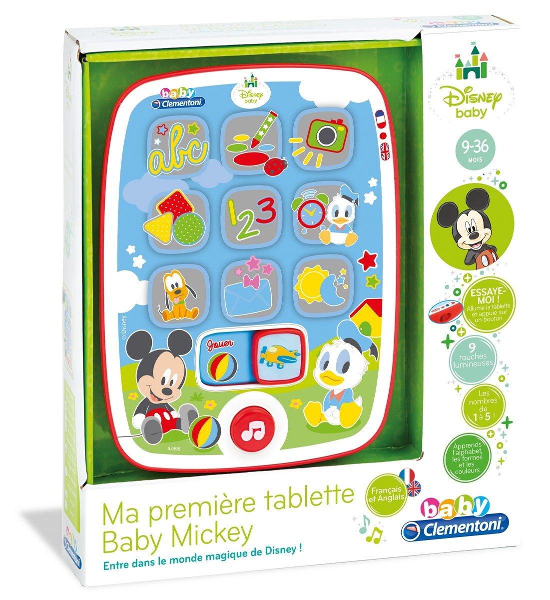 Clementoni - 62496 - Ma première Tablette Baby Mickey - Disney - Premier age 62496.6