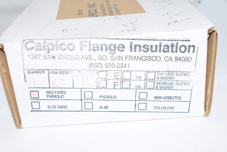 New Calpico Flange Insulation 1 ISD F DW Sleeves /& Washers