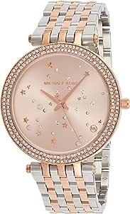 Michael Kors Womens Quartz Watch, Analog Display and Stainless Steel Strap MK3726