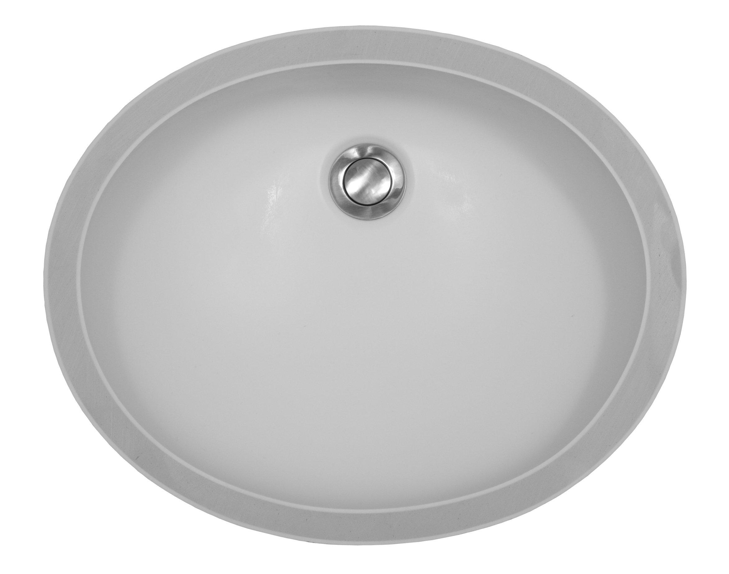 Karran Undermount Acrylic Sinks : York - Bisque