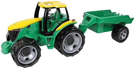 Klettergerüst Traktor : Lena 02122 starke riesen traktor mit anhänger ca. 62 cm und 43