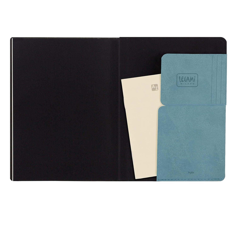 Legami 2020 - Agenda diaria de 12 meses, color azul y gris ...