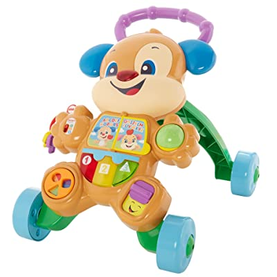 Fisher-Price Laugh & Learn Smart Stages Learn with Puppy Walker: Toys & Games