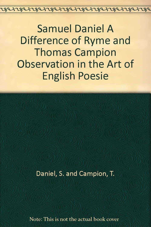 the art of english poesie