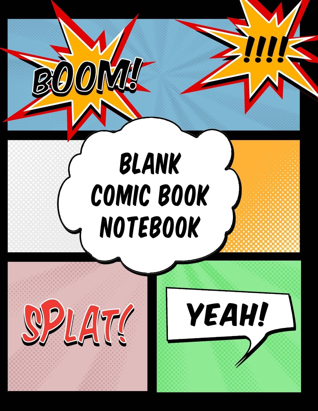 Buy Blank Comic Book Notebook Draw Your Own Comics Notebook