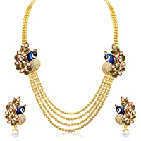 Sukkhi Wedding Jewellery Multi Strand Necklace for Women (Gold)(2191NGLDPP1560)
